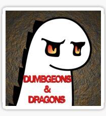 Dumbgeons & Dragons Podcast Sticker