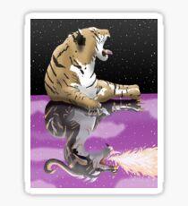 Tiger Dragon Reflection Sticker