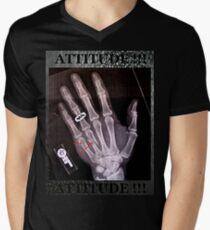 Attitude 005 Men's V-Neck T-Shirt