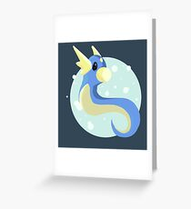 Dratini Greeting Card