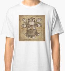 Horus Hippoptumus Amphibius Vitruvian Classic T-Shirt