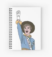 Sister Suffragette Spiral Notebook
