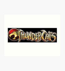 Thundercats logo Art Print