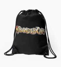 Thundercats logo Drawstring Bag