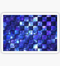 Glittered/checkered Sticker