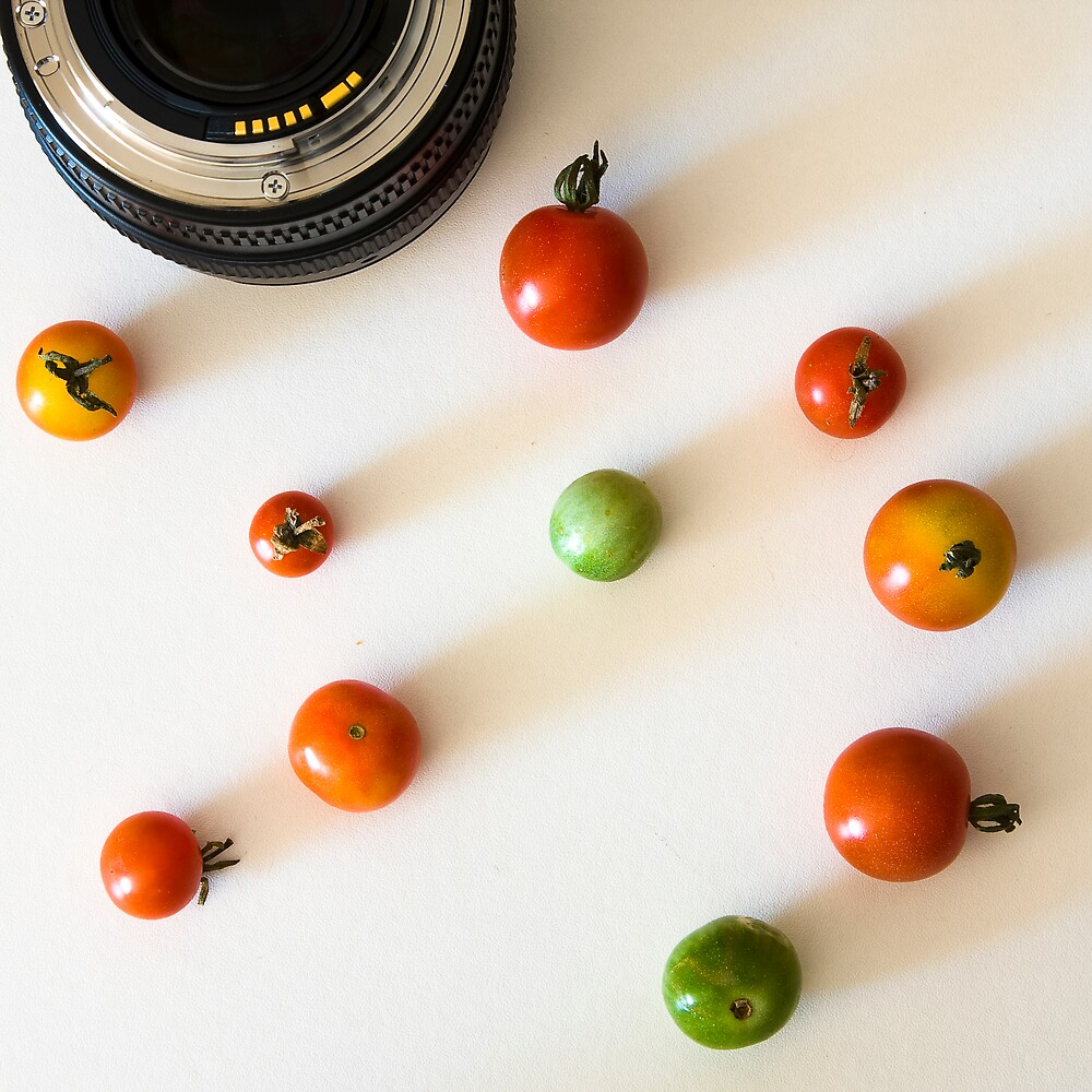 Form of Food - Tomatoes by Michael Morffew