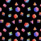 Rainbow Dice by Alysa Avery