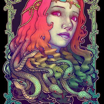 Medusa Devil by Villainmazk