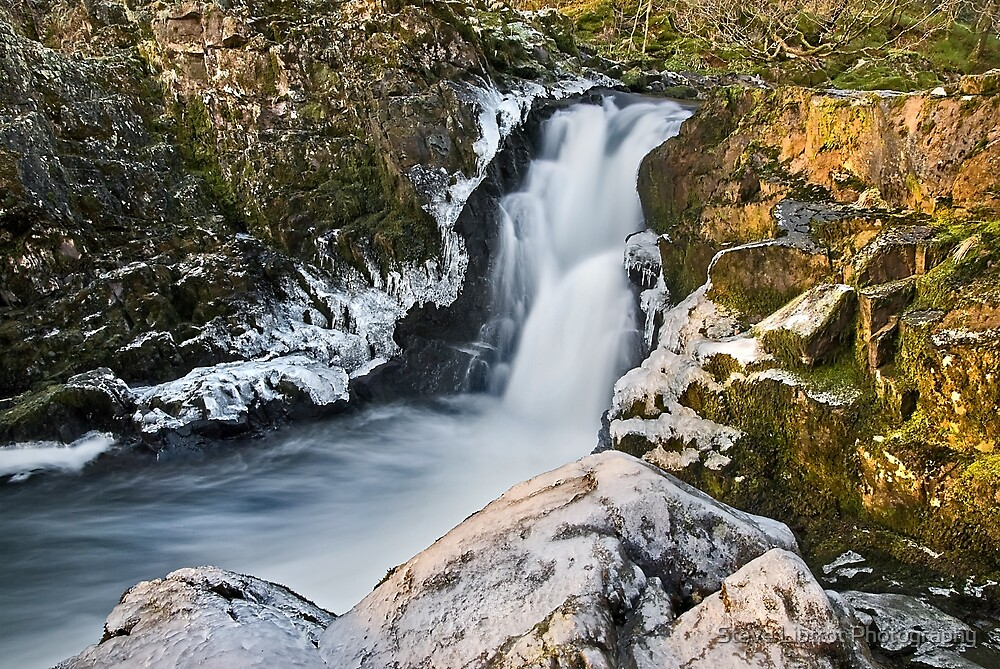 Skelwith Force, Cumbria by Stephen Liptrot