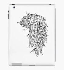 Experimentelle Linienkunst iPad-Hülle & Skin