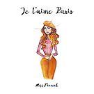 Paris je t'aime by misspeacock