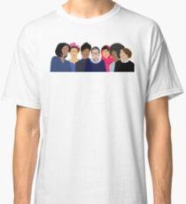 Feministische Mädchen Gang-Squad Ziele Classic T-Shirt