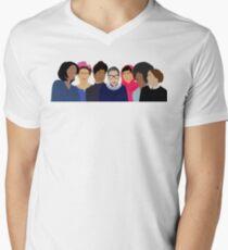 Feminist Girl Gang- Squad Goals Men's V-Neck T-Shirt