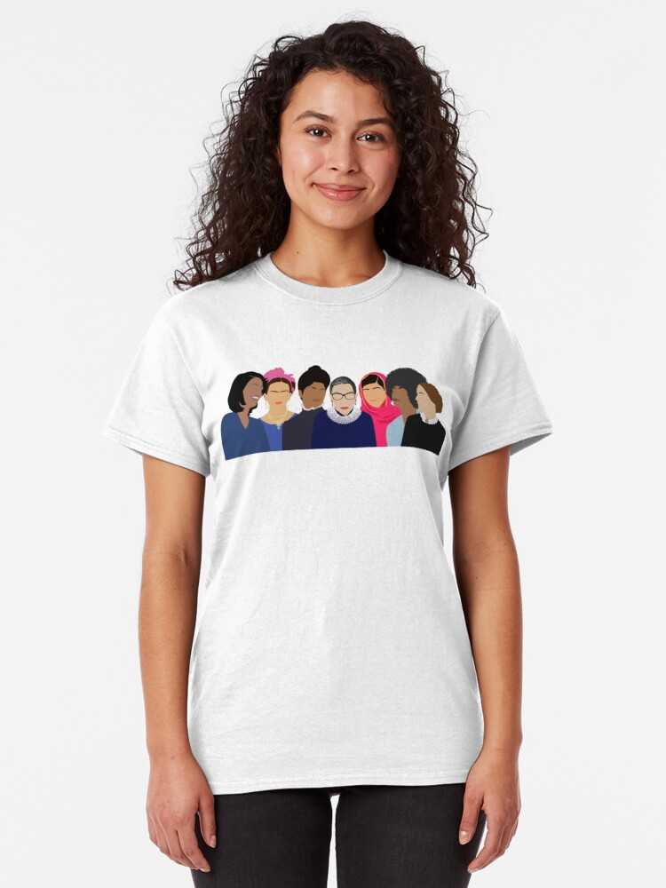 Alternate view of Feminist Girl Gang- Squad Goals Classic T-Shirt