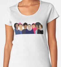 Feminist Girl Gang- Squad Goals Women's Premium T-Shirt