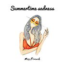 Summertime Sadness by misspeacock