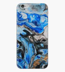 blaue Wellen iPhone-Hülle & Cover