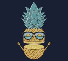 Pineapple Summer Sunglasses by coffeeman