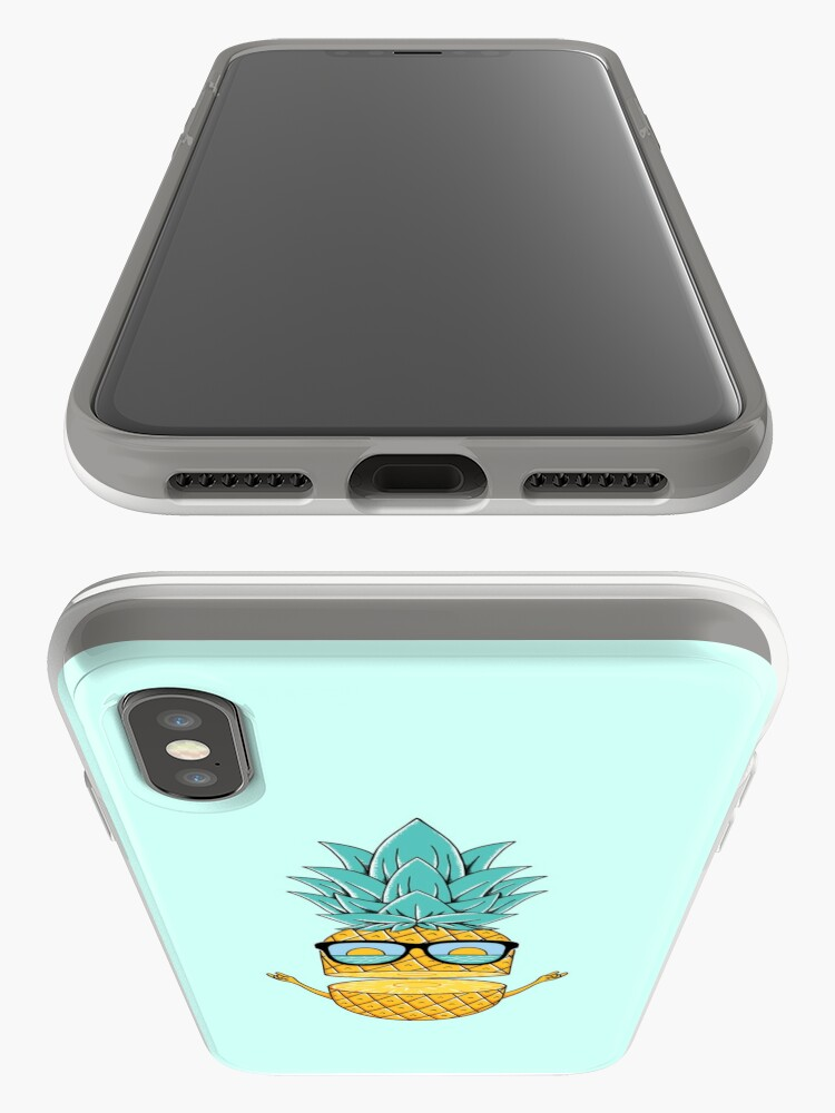 Alternate view of Pineapple Summer Sunglasses iPhone Case & Cover
