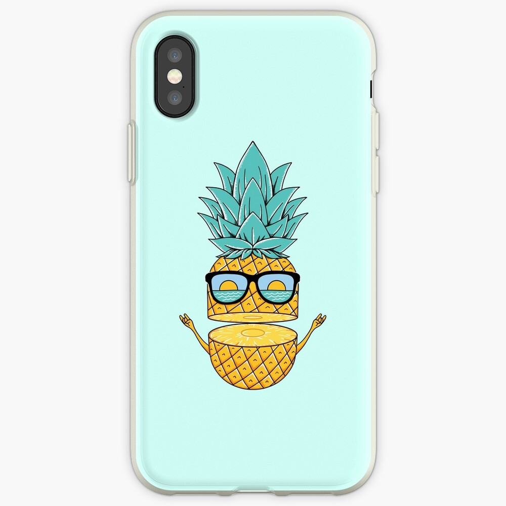 Pineapple Summer Sunglasses iPhone Case & Cover