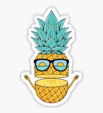 Pineapple Summer Sunglasses Sticker