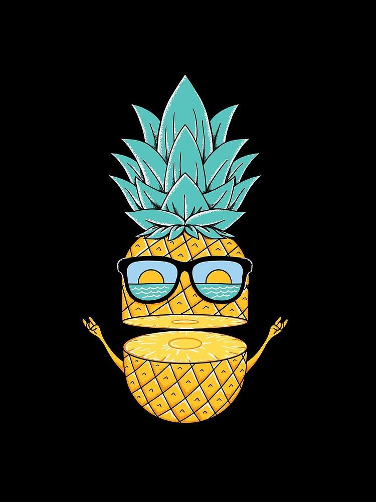 Pineapple Summer Sunglasses by coffeeman