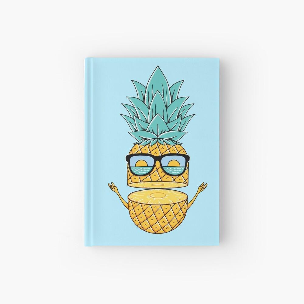 Pineapple Summer Sunglasses Hardcover Journal