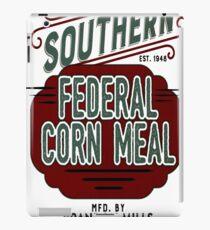 Feed Sack Southern Corn Meal iPad Case/Skin