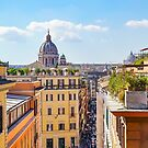 ROME the Streets:  Rooftop View of Rome, Italy #art #decor #photography #rome #italy #myaspiringsoulfullife by Jacqueline Cooper
