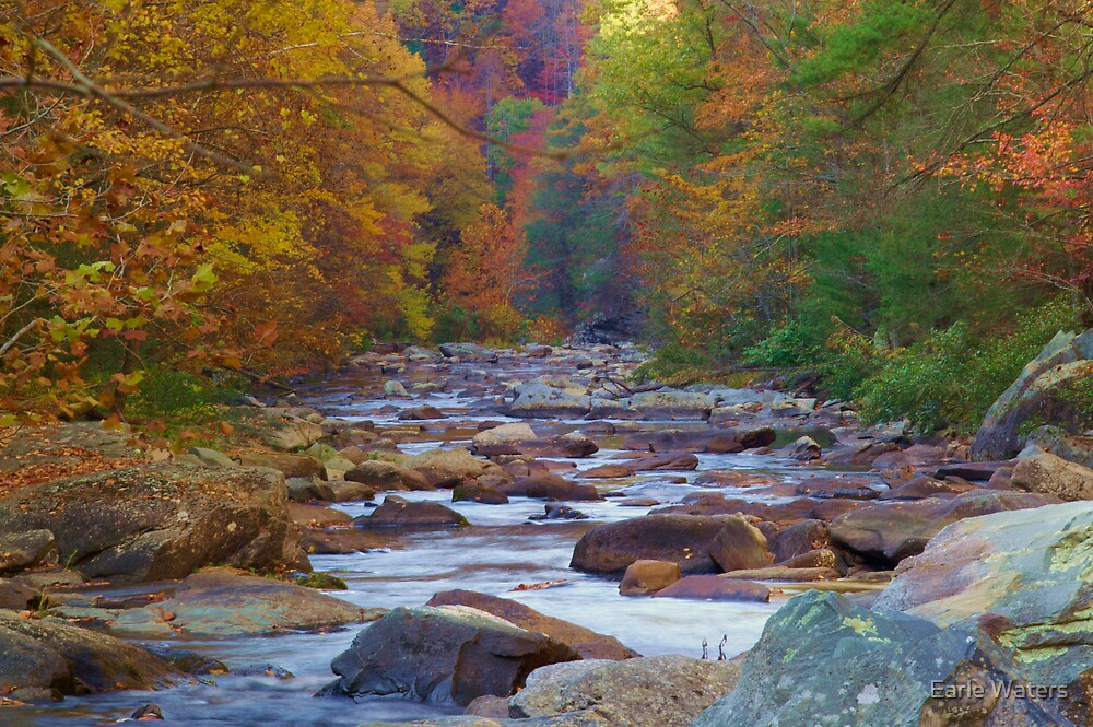 RIVER OF ROCK by Earle Waters