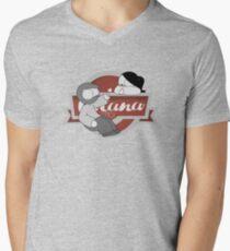 Catana Logo Men's V-Neck T-Shirt