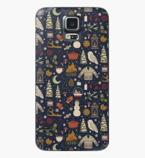 Winternächte Hülle & Klebefolie für Samsung Galaxy