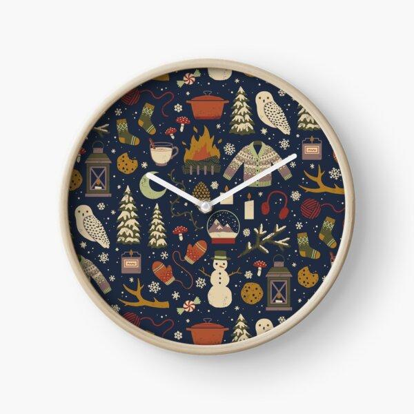 Winter Nights Clock