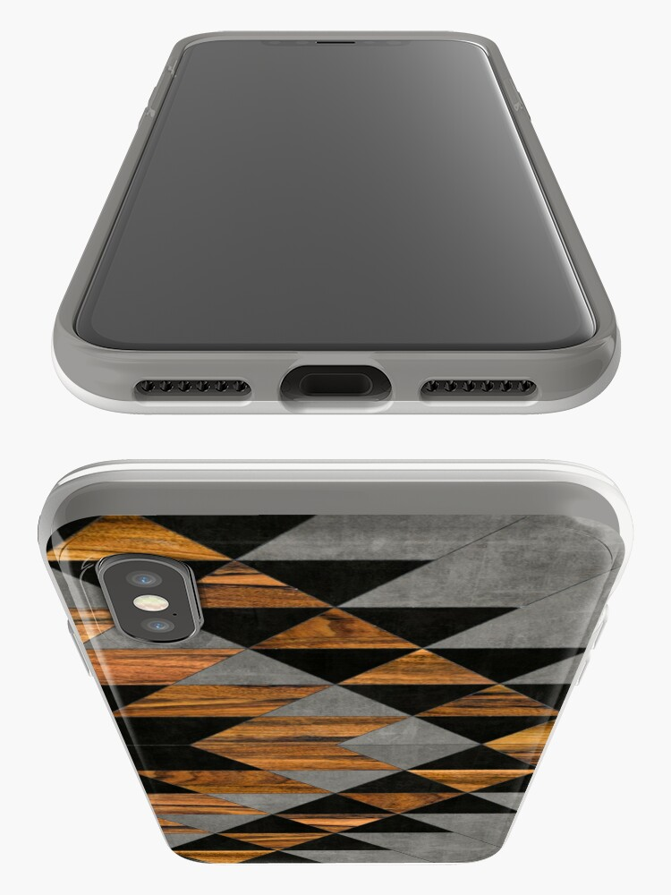 Alternate view of Urban Tribal Pattern 10 - Aztec - Concrete and Wood iPhone Cases & Covers
