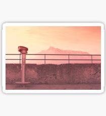 Morning Mountain Sticker