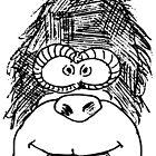 Yeah a Cartoon Gorilla Head Looks Good on Ya!! by ChasSinklier
