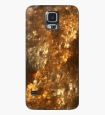 Fraktale Kunst - Bernstein Hülle & Skin für Samsung Galaxy