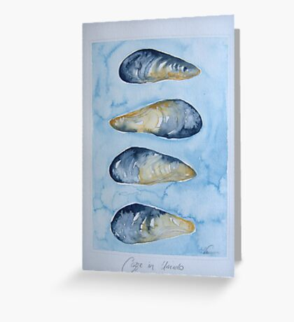 cozze in umido © patricia vannucci 2008  Greeting Card