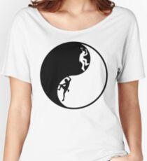 Yin Yang - Rock + Ice Climber Women's Relaxed Fit T-Shirt