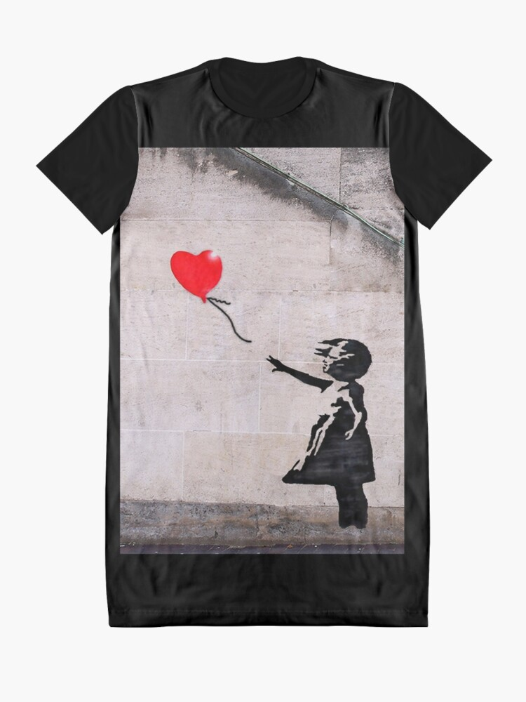 Alternate view of Banksy, Hope Graphic T-Shirt Dress
