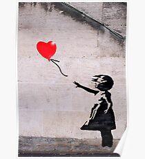 Banksy, Hope Poster