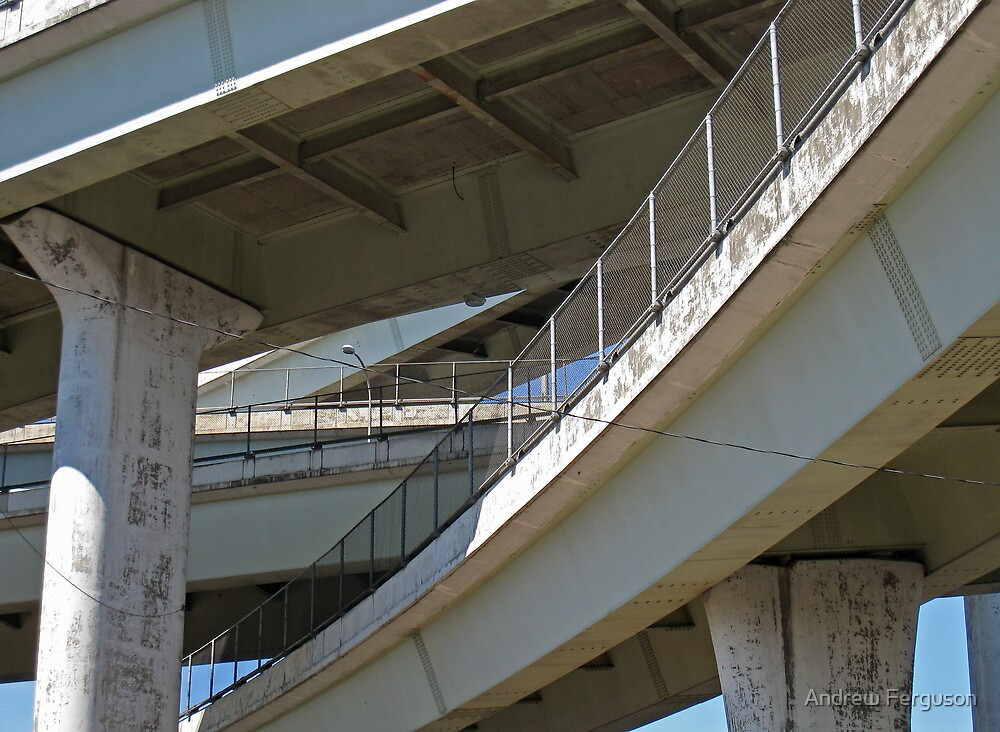 Intersecting bridges 2. by Andrew Ferguson