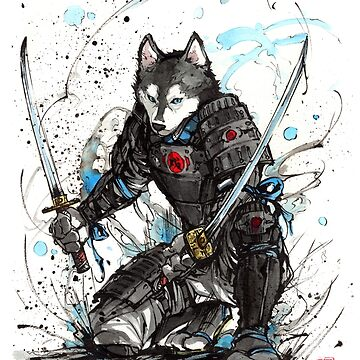 Year of the Dog..Samurai! Chinese Zodiac by Mycks