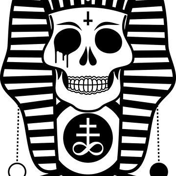 Sugar Skull Pharaoh  by TheWillsProject