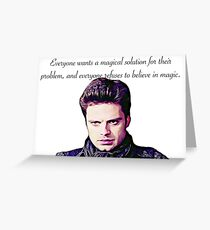 Magical Solution Greeting Card