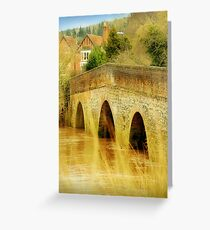Summer In The Countryside Greeting Card
