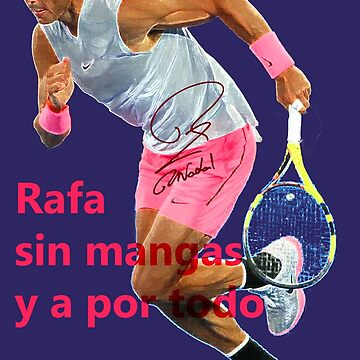 Sleeveless Rafa Nadal by Dulcina
