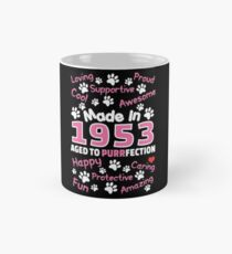 Made In 1953 Aged To Purrfection - Birthday Shirt For Cat Lovers Mug