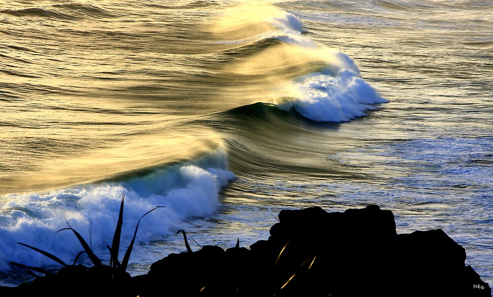 Waves... by Paul Manning
