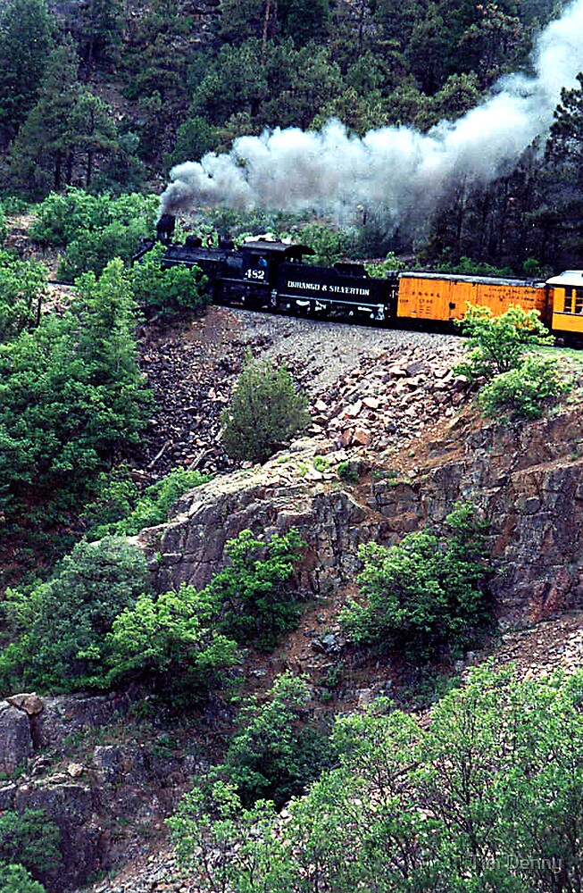 ~ Well, Looky Yonder Comin, Comin Down That Rail Road Track......~ by Tim Denny